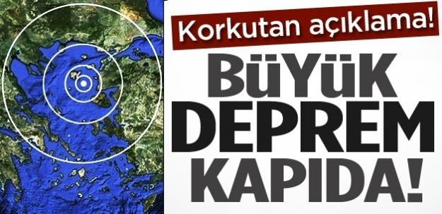 Son depremler büyük İstanbul depreminin habercisi