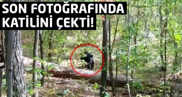 Son fotoğrafında katilini çekti!