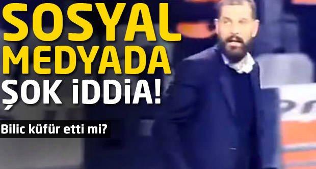 Sosyal Medyada Bilic'le ilgili şok iddia!
