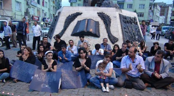 Sosyal Medyada Örgütlenip Ölen Madencileri Andılar