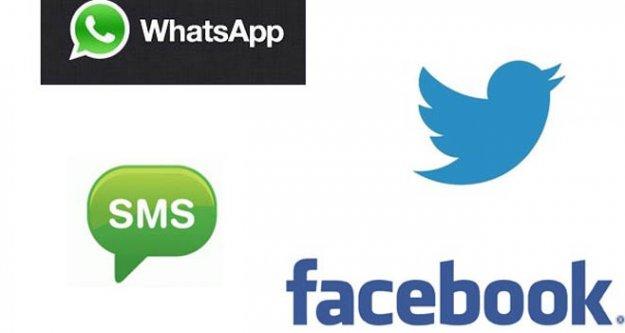 Sosyal medyadan SMS'lere büyük darbe