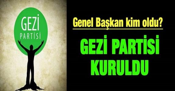 Söylentiler gerçek oldu: Gezi Partisi kuruldu!