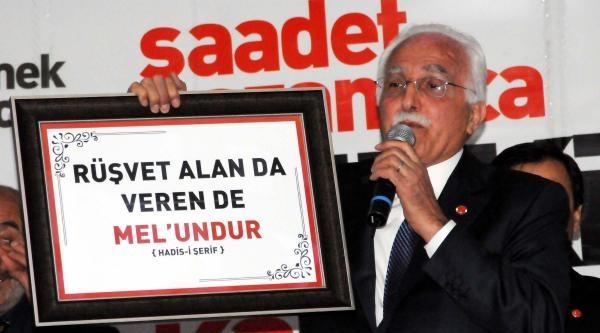 Sp Genel Başkanı Kamalak: Kucaklaşma Yerine Kutuplaşıyoruz