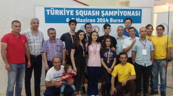 Squash Türkiye Şampiyonasi Sona Erdi