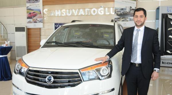 Ssangyong'tan Antalya'ya 12 Milyon Dolarlık Yatırım