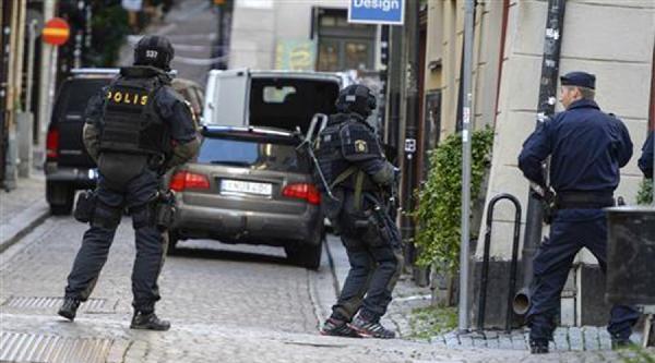 Stockholm'de Bombacı Yakalandı