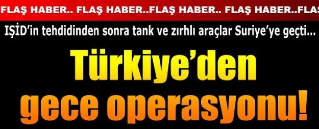 Süleyman Şah'a gece operasyonu