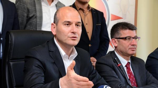 Süleyman Soylu: Seçim Şirketi Seçimi Sabote Etmeye Çalişiyor