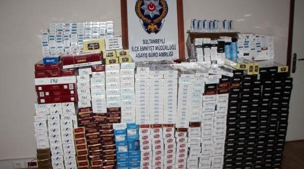 Sultanbeyli'de Kaçak Sigara Operasyonu
