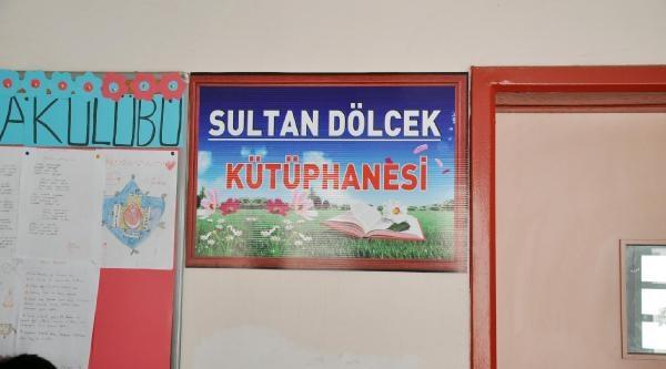 Sultan'ın Adı, Okulunun Kütüphanesinde Yaşayacak