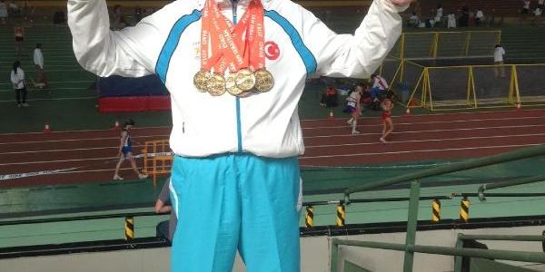 'süper Dede' Brezilya'da 2 Madalya Kazandi