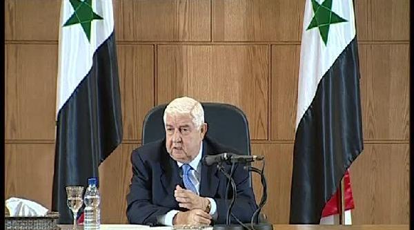 Suriye Dışişleri Bakanı Işid'e Hava Saldırılarında İşbirliğine Hazır Olduklarını Söyledi