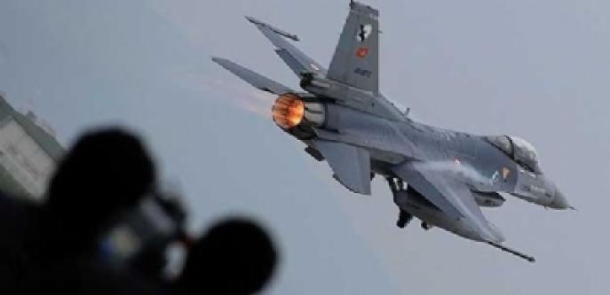 Suriye Jetlerinden Türk F-16'lara Taciz...