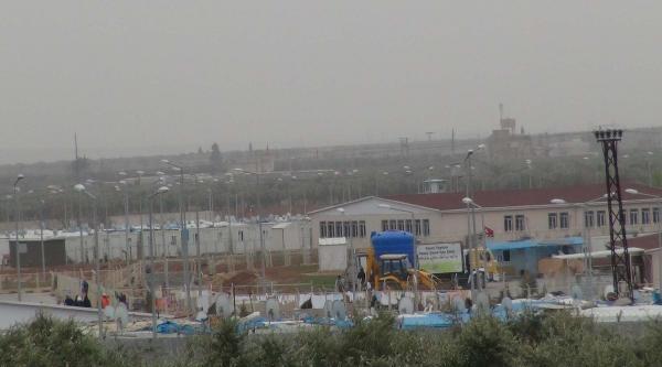 Suriye Sınırında Hava Hareketliliği