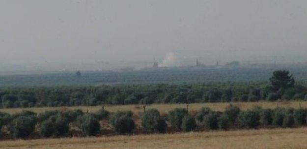 Suriye sınırında yoğun top atışları başladı!