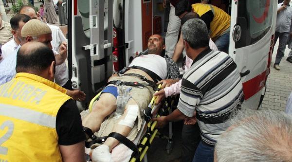 Suriye Sınırındaki Akçakale'de Mayına Basan İnşaat İşçisi Yaralandı