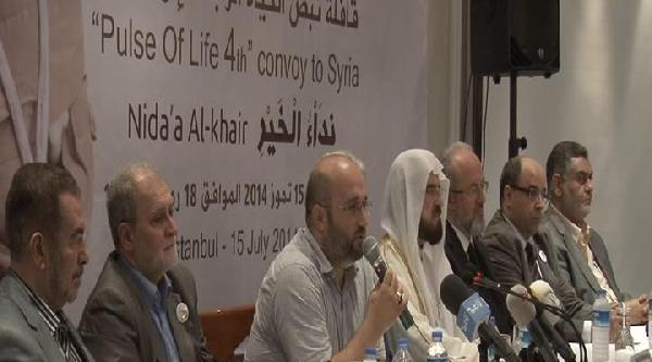 Suriye Yardım Kafilesi, Suriye İçin Yardım Talebinde Bulundu