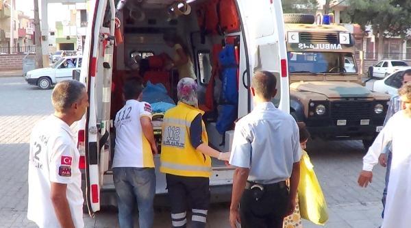 Suriye'de Çatişmada Yaralanan 4 Suriyeli Akçakale'ye Getirildi