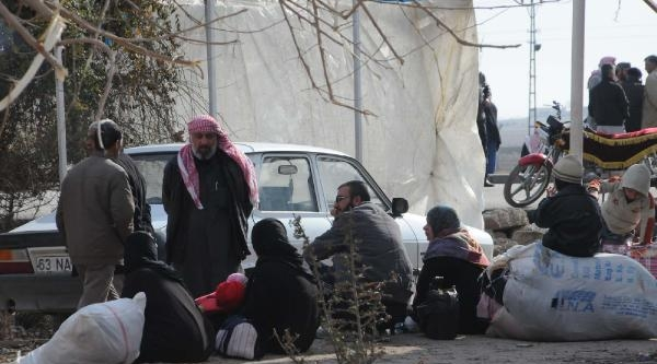 Suriye'deki Çatişma Ani Kameralara Yansidi (2)