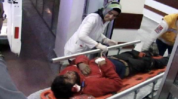Suriye'deki Saldirida Yaralanan 5 Kişi Şanliurfa'ya Getirildi