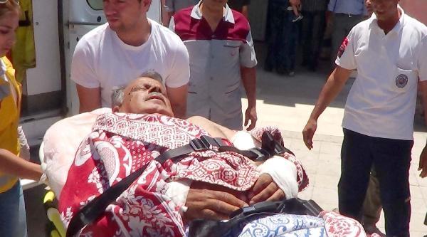 Suriye'den 4 Yaralı Akçakale'ye Getirildi