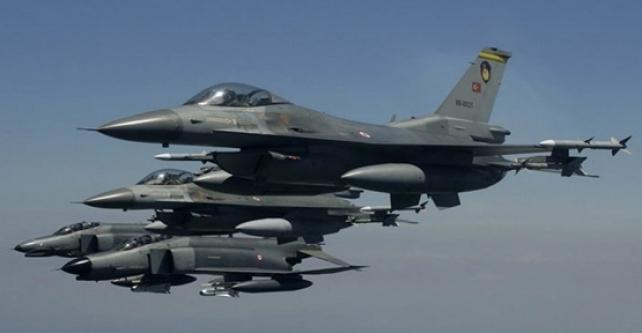 Suriye'den Türk jetlerine taciz!