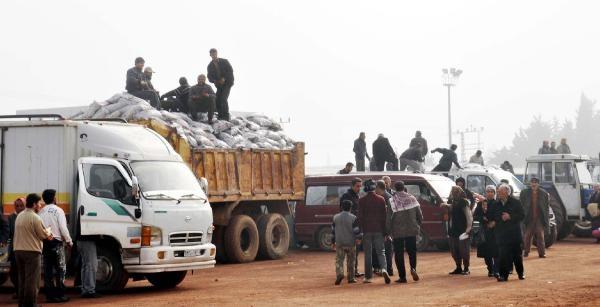 Suriyeli 1100 Aileye Kömür