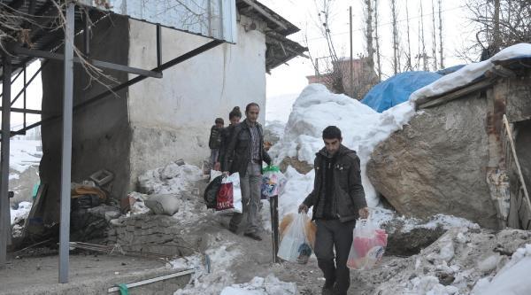 Suriyeli Aileye Yardim Eli Uzatildi