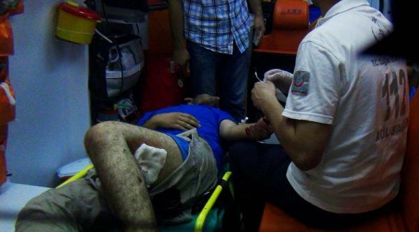 Suriyeli Genç Bacağından Bıçaklandı