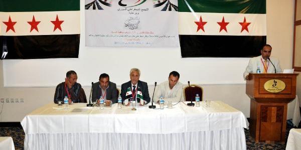 Suriyeli Muhalifler Şanliurfa'da Toplandi