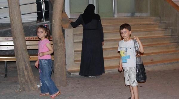 Suriyeli Sığınmacı Kadına Eş Dayağı