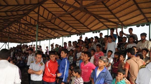 Suriyeliler Arasındaki Futbol Turnuvası Sona Erdi