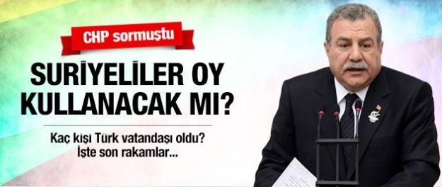Suriyeliler Türkiye'de oy verecek mi?