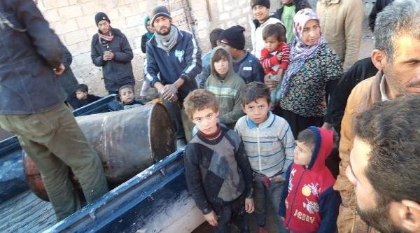 Suriyelilere Akaryakit Yardimi