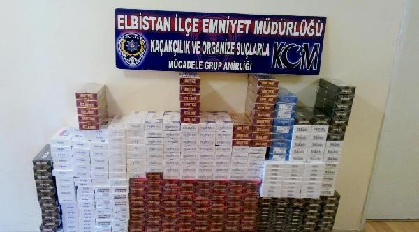 Suriyelinin Barındığı Evden 4300 Paket Kaçak Sigara Çikti