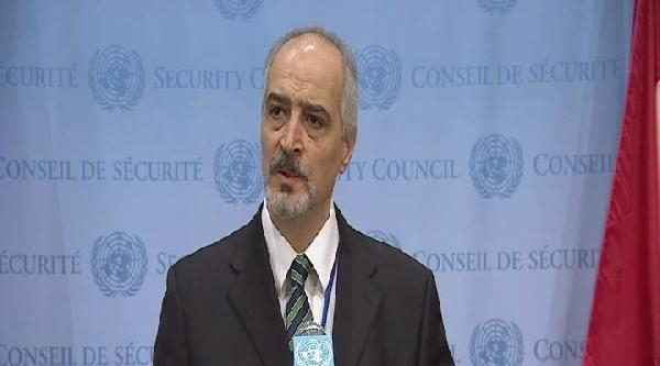 Suriye'nin Bm Daimi Temsilcisi: Türk Hükümeti Teröristlere Destek Veriyor