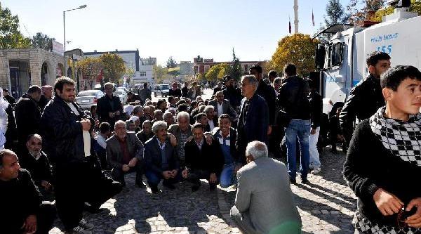 Suruç'Ta Elektrik Kesintisi Protestosu