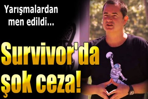 Survivor All Star'da Turabi'ye şok ceza