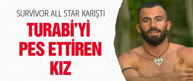 Survivor All Star'da Turabi'yi pes ettiren kız