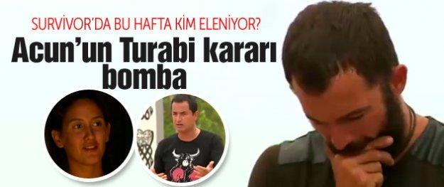 Survivor Turabi diskalifiye oldu kim elenecek?