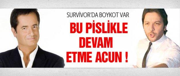 Survivor'a Nihat Doğan yüzünden boykot