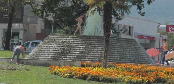 Süs Havuzunda 'tehlikeli' Serinlik
