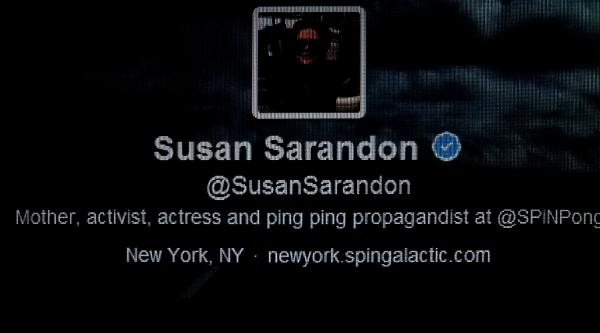 Susan Sarandon'dan Twıtter Tepkisi