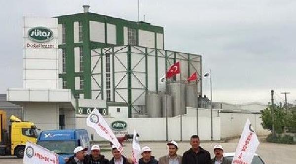 Sütaş İşçileri Eylemlerini İstanbul'a Taşıyor