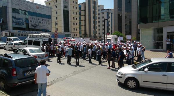 Sütaş İşçileri İstanbul'da