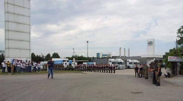 Sütaş'ta Eyleme Jandarma İkinci Kez Müdahale Etti