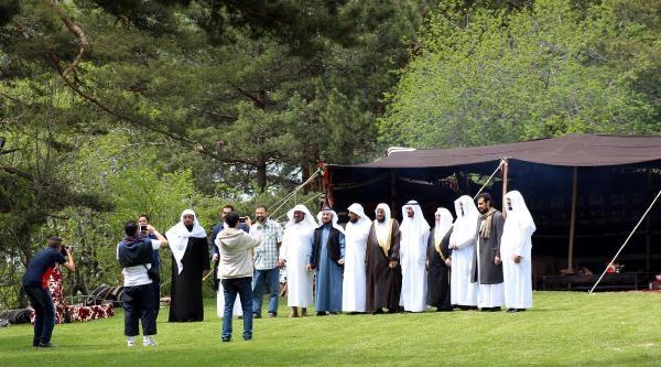 Suudi Arabistan'ın Dini Önderleri İçin Abant'ta Çadir Kuruldu