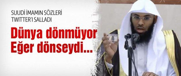 Suudi imamın sözleri Twitter'ı salladı!