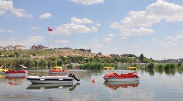 Suyu Çekilip Yosun Tutan Mogan Gölü'ne Can Suyu