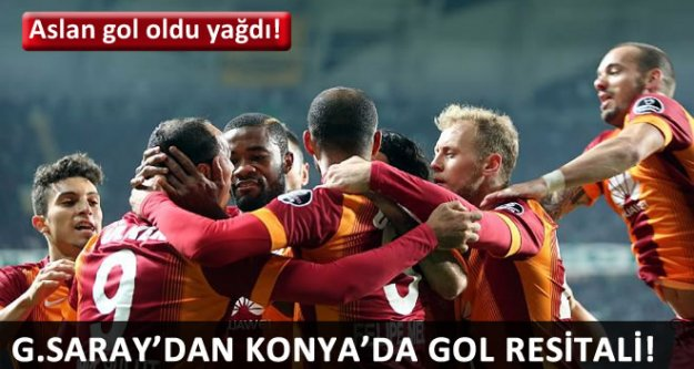 (T. Konyaspor 0 - 5 Galatasaray) MAÇ SONUCU
